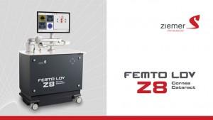 Femtolaser FEMTO LDV Z8 der Schweizer Marke Ziemer